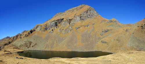 Mont Fallere and Fallere Lake