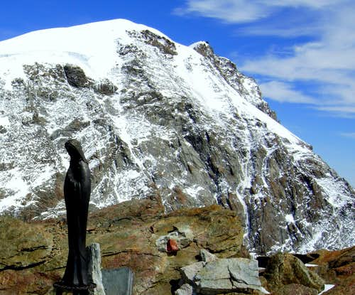 Summit of Punta Giordani