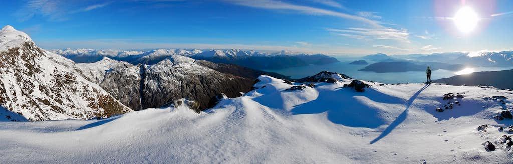 West Peak summit panorama