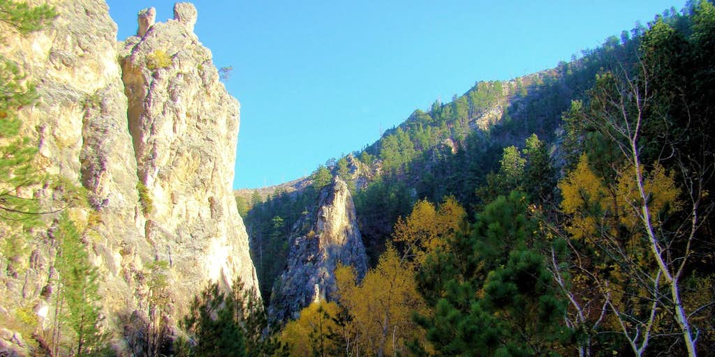 Little Elk Creek Canyon