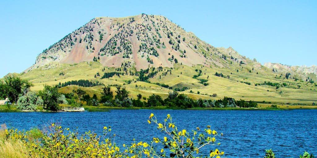 Bear Butte from Bear Butte Lake