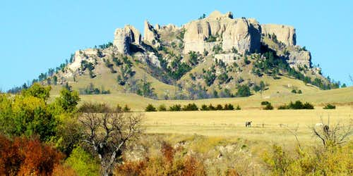Crow Butte Southwest View