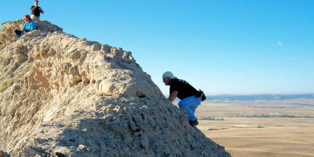 Crow Butte Summit