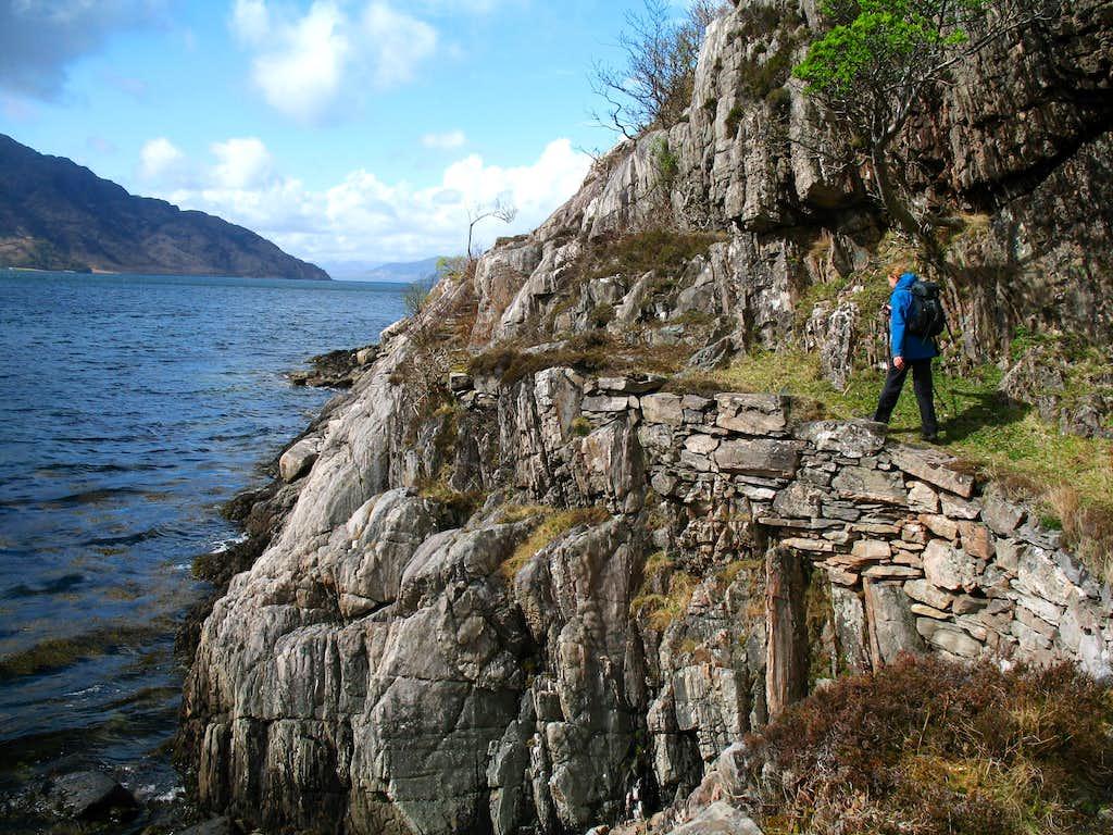 Corran coastal path.