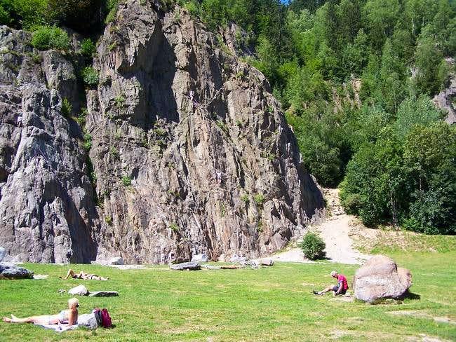 Les Gaillands 3. August 2004