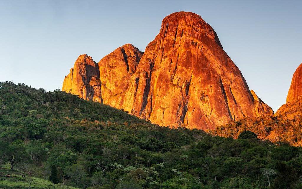 três picos peak