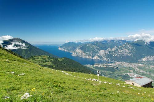 Malga Stivo and Lago di Garda