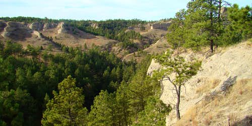 Central Canyon at Chadron State Park