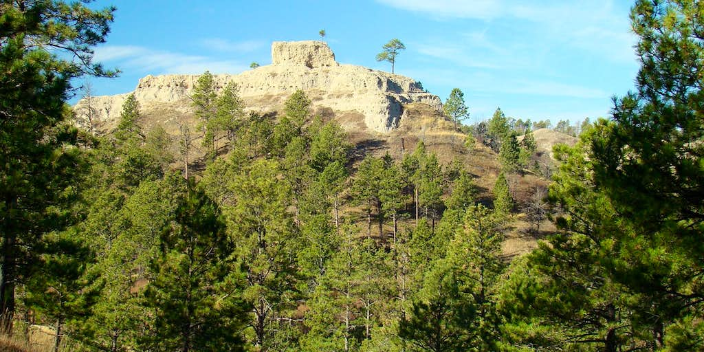 Steamboat Butte at Chadron State Park