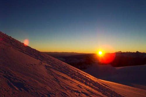 Alpine Sunrise over...