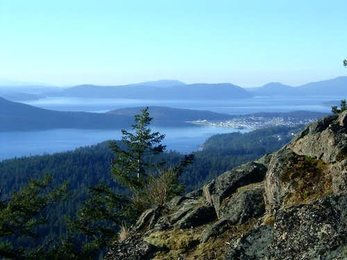 Anacortes from the Powerline...