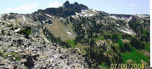 Castle Peak from just below...