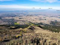 Sierra Negra western trail