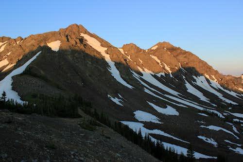 Dawn-- Miller Mountain Summit