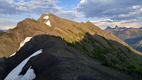 False Summit of Miller Seen from Near Summit