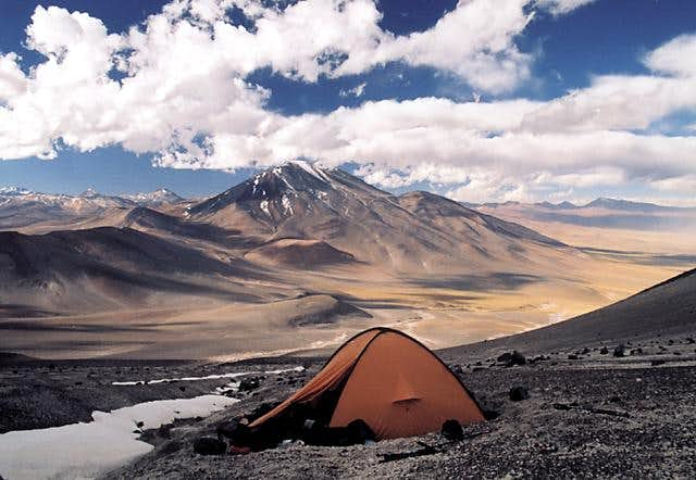 A campsite at 5300m. Plenty...