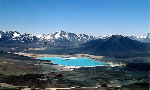 Laguna Verde, Chile. Seen...