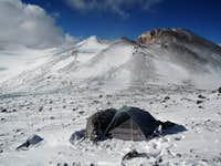 5550m col camp on San Jose