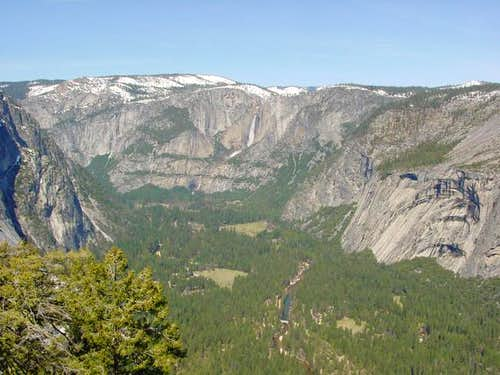 Yosemite Valley viewed to the...