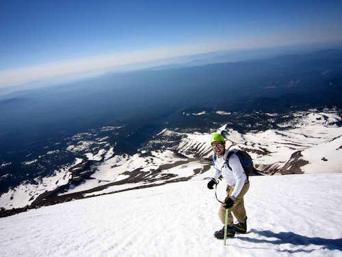 Climbing Shasta - Clear Creek Route