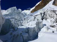 Difficult glacier