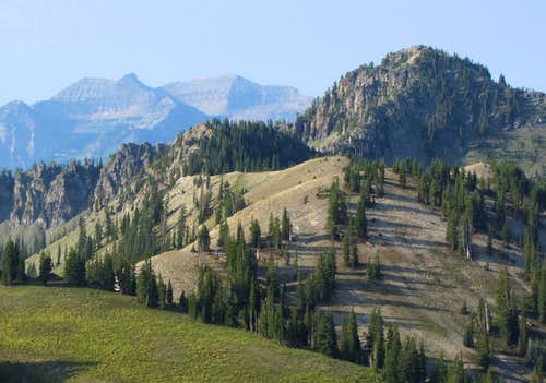 Timp view from Mount Tuscarora