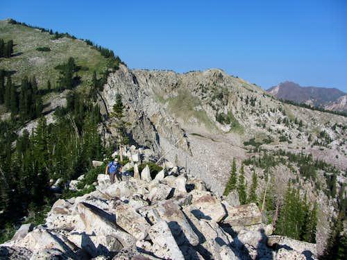 Mount Millicent southwest ridge