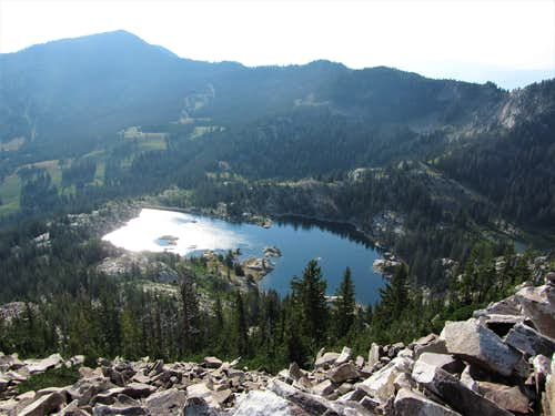 Lake Mary from Mount Millicent