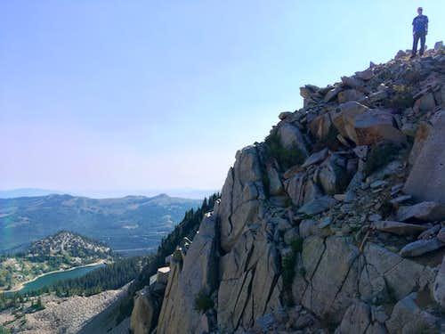 Mount Wolverine summit
