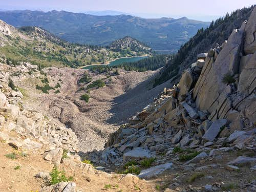 Rock Glacier below Wolverine Cirque?