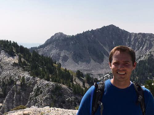 Honeycomb Cliffs summit pic
