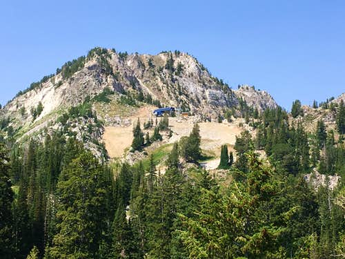 Honeycomb Cliffs from Mount Evergreen