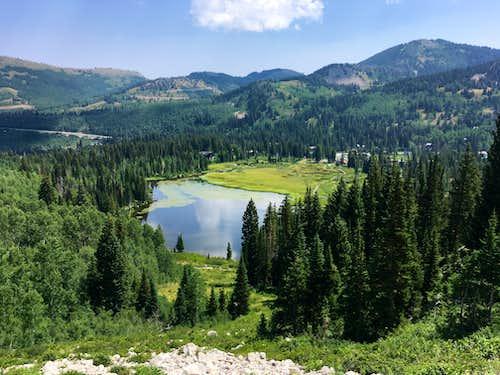 Trail above Silver Lake