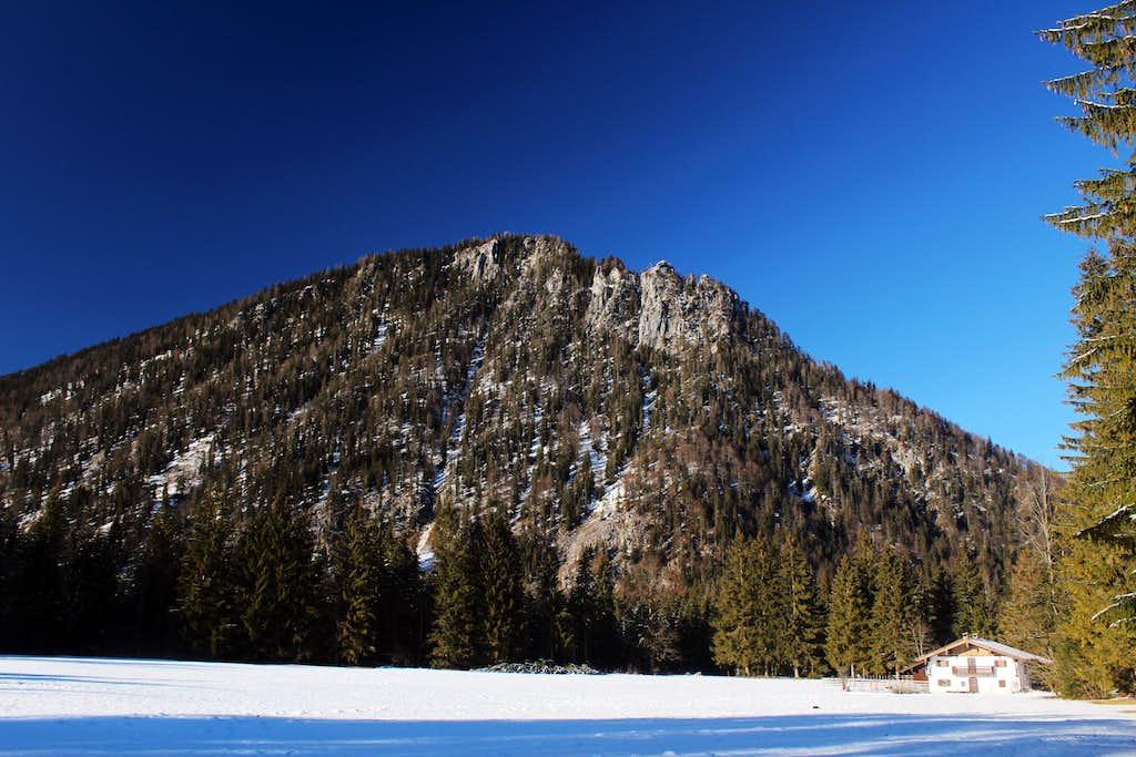 Xmas in Ruhpolding: Gschosswande (1335m)