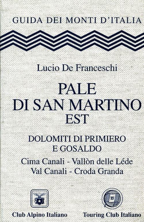 Guidebook Pale di San Martino Est