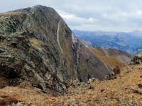 Treasury Mountain from the SE