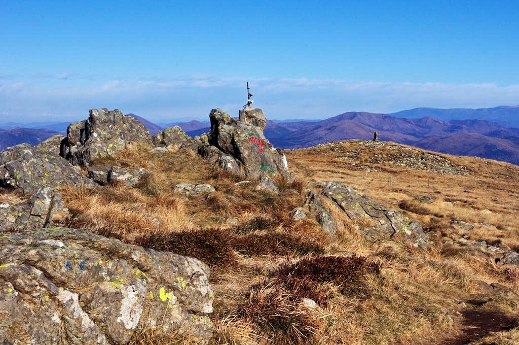 Summit of Monte Reixa
