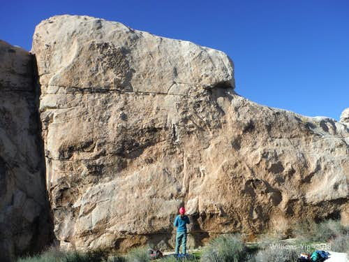 Two Bolt Rock, 5.6-5.11c