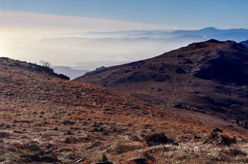 Western Ligurian coast from Monte Reixa
