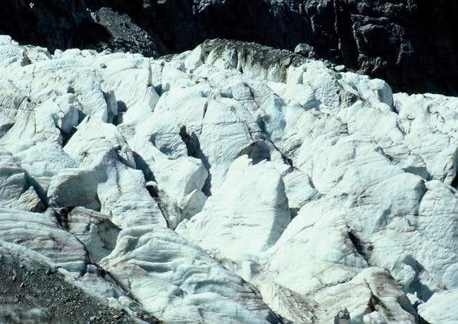 The glacier 30 Aug 2003