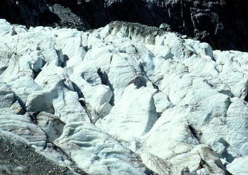The glacier