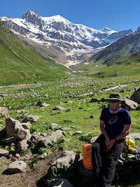 Aleks at the head of Ullukam Valley