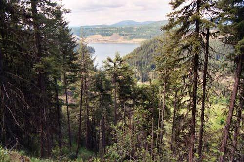 View of Lake Coeur d'Alene...