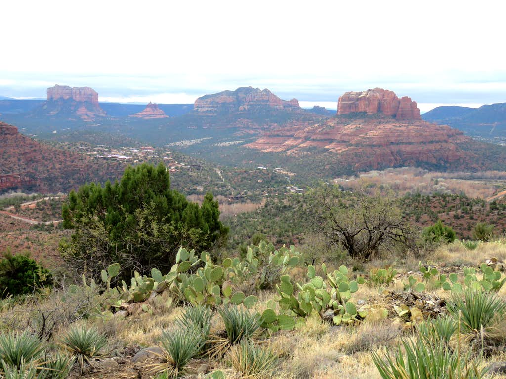 Cathedral Rock, Courthouse Butte & Bell Rock