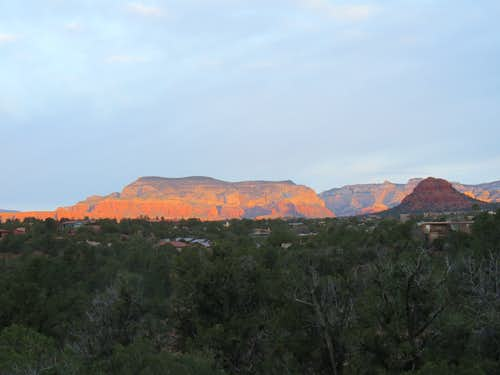 Looking toward Boynton Canyon