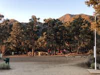 Picnic areas at Devil's Punchbowl park