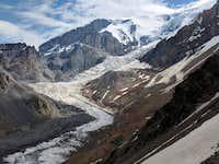 Icefall on Kukurtlu Glacier