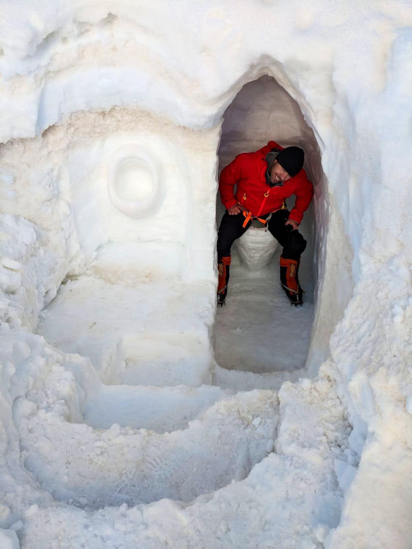 Snow Toilet - Thank you Andrei!