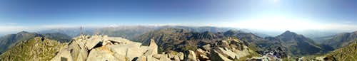 Panorama from the top of M. Mars