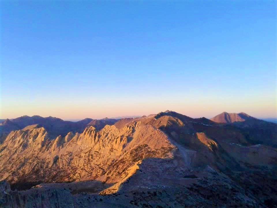 From summit of North Peak